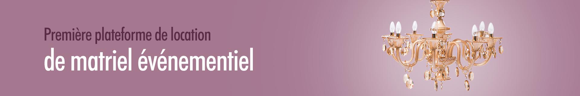 Location d'accessoires pour Stand - Ekrili