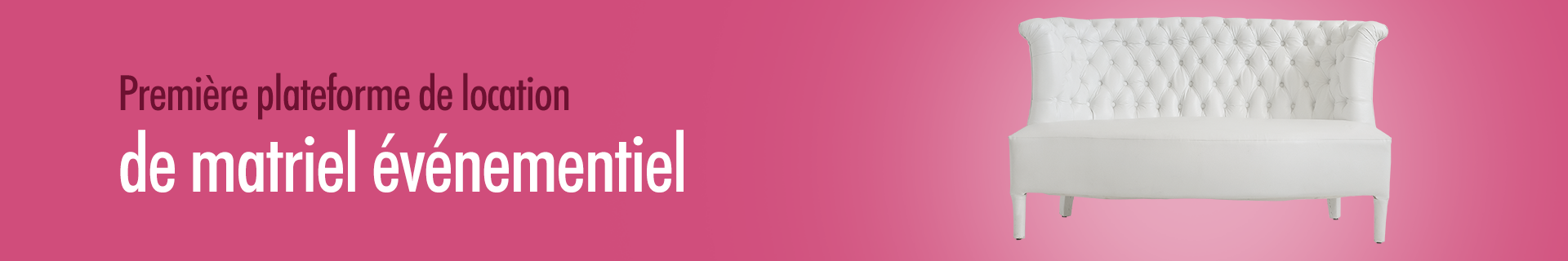 Location Chaises - Prix location chaises - Ekrili